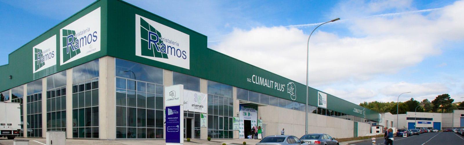 Oficinas Cristalería Ramos y Ramos Ourense
