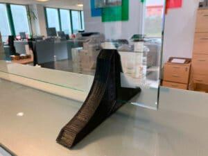 Pie mampara impresión 3D